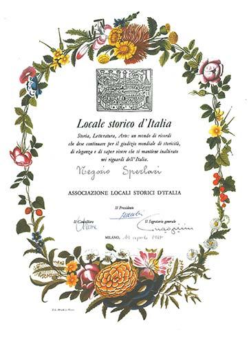 Locale Storico Italiano